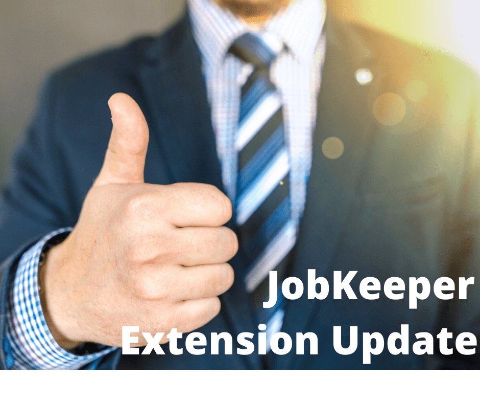 COVID-19 JobKeeper Extension Update